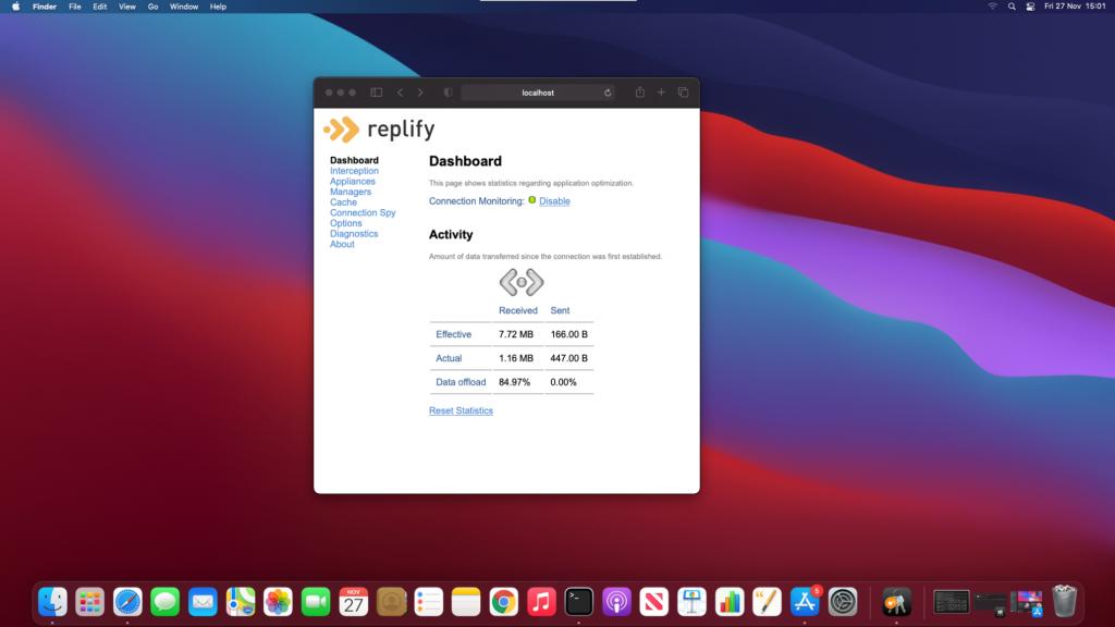 Replify_WAN_Optimization_Apple_M1
